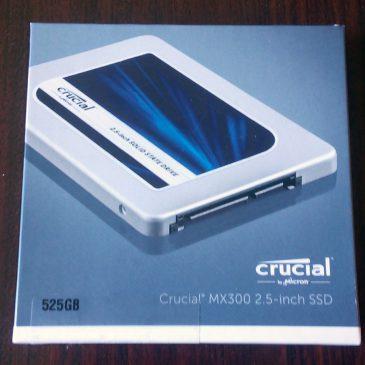 Обзор ssd диска Crucial MX300 525GB