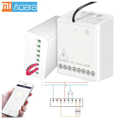 Aqara two way wireless relay review