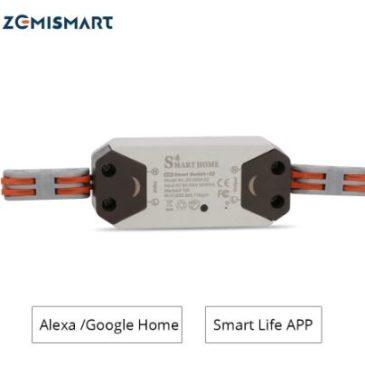 Zemismart Tuya single channel WiFi relay